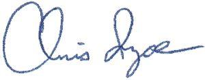 Chris Ingoe, President (signature)